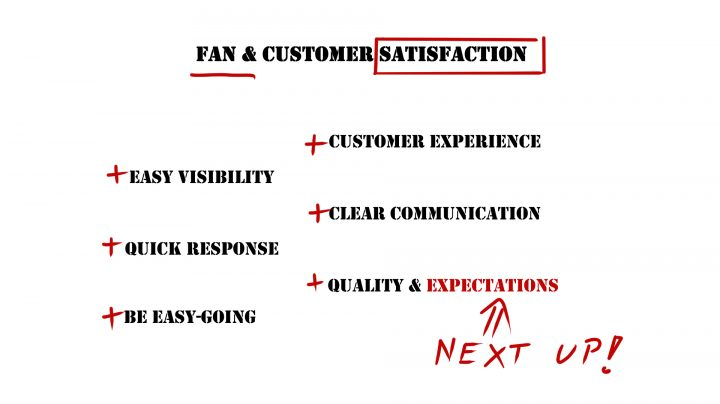 Dance Marketing Customer Satisfaction Overview