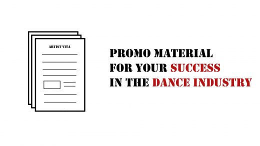 promo material needed in the dance industry aka promotion papers
