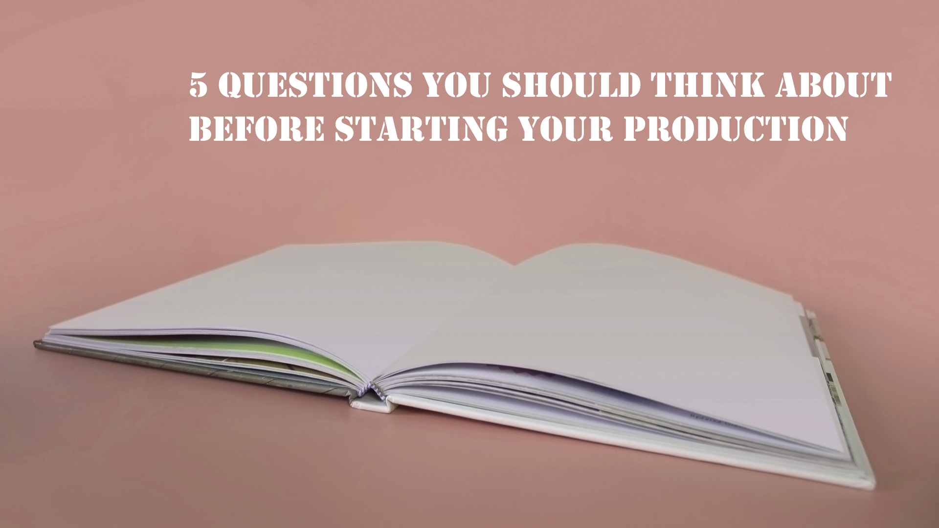Five Questions to answer before you start your dance theater production