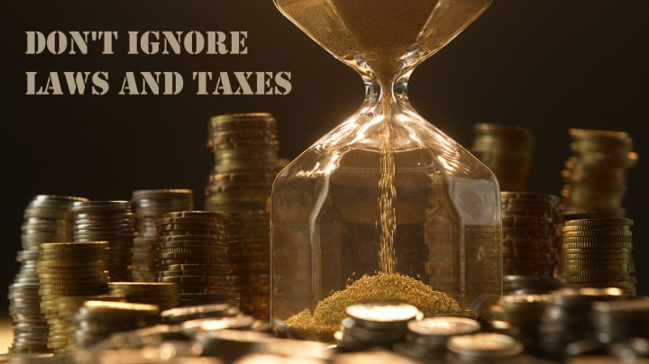 Don't ignore laws and taxes as a dancer